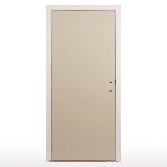Porte intérieure à peindre tubulaire