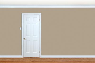 Porte intérieure en bois à peindre