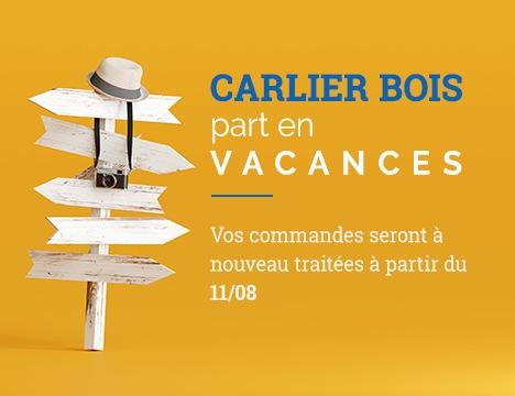 Carlier Bois part en vacances